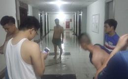 Vỡ đường ống, nước ngập lênh láng tại chung cư của đại gia Lê Thanh Thản