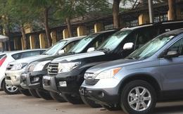 Nửa năm, các Bộ ngành đã thanh lý 264 xe công