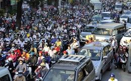 Việt Nam chưa thể bỏ xe máy đi ô tô