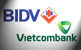"""BIDV và Vietcombank đang bước vào """"cuộc chiến"""" mới?"""