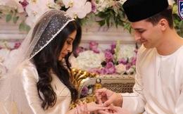 Công chúa Malaysia hạnh phúc trong lễ cưới với thường dân là cầu thủ bóng đá