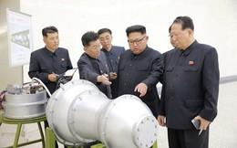 KCNA: Nhà lãnh đạo Triều Tiên kiểm tra đầu đạn tên lửa là bom H