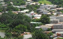 Đất dân cư mới chỉ được xây dựng tạm