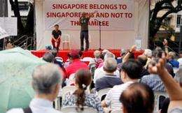 Người biểu tình Singapore đòi điều tra Thủ tướng Lý Hiển Long