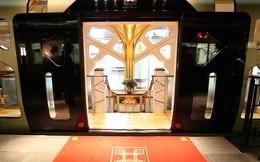 """Có gì bên trong tàu hỏa """"5 sao"""" với giá vé lên tới 12.000 USD mỗi chuyến tại Nhật Bản?"""