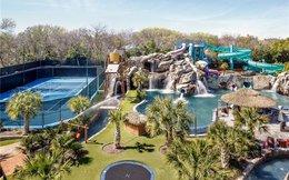 Công viên nước trong biệt thự trị giá 32 triệu USD