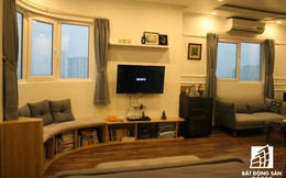 Với gần 300 triệu đồng cặp vợ chồng trẻ Hà Thành đã biến căn hộ 45m2 thành không gian sống vừa đẹp, vừa tiện nghi