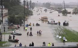 Thủ phủ dầu mỏ ngập trong nước lũ, siêu bão có thể khiến Mỹ thiệt hại 100 tỷ USD