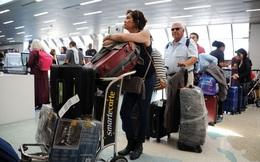 Trốn bão Irma, máy bay gấp rút rời Florida