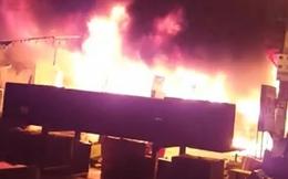 Cháy trung tâm thương mại ở Gia Lai, thiệt hại nhiều tỷ đồng