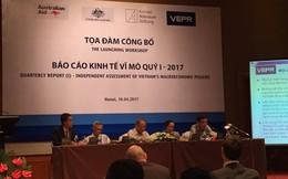 TS. Nguyễn Đức Thành: GDP Việt Nam 2017 dự báo chỉ đạt 6,1%, lạm phát thấp hơn 5%