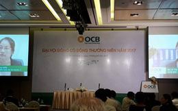 ĐHĐCĐ ngân hàng OCB: Tăng vốn bất thành trong năm qua, OCB tiếp tục kế hoạch tăng vốn lên 5.000 tỷ