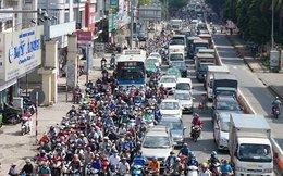 Thông xe cầu vượt, giao thông cửa ngõ Tân Sơn Nhất vẫn rối loạn