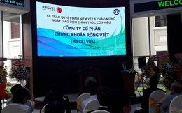 Cổ phiếu của Chứng khoán Rồng Việt chính thức Lên sàn HOSE
