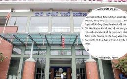 """Trường Lương Thế Vinh ban hành nội quy mới: Cấm học sinh bấm """"like"""" khi chưa đọc kỹ status Facebook"""