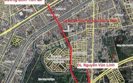 Tiếp tục xây cầu đường Bình Tiên theo hình thức BT