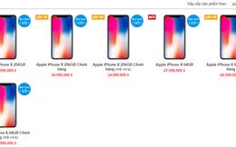 iPhone X xách tay tiếp tục giảm giá, xuống dưới 28 triệu đồng