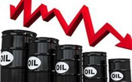 Giá dầu giảm 3,7% xuống mức thấp nhất 7 tháng