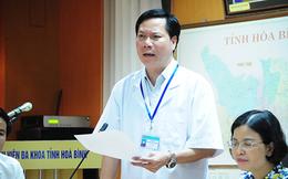 Đủ căn cứ cách chức Giám đốc bệnh viện Hòa Bình