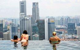 """Hưởng thụ cuộc sống """"sang chảnh"""" đúng nghĩa trong tòa nhà Marina Bay Sands của Singapore"""