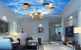 """Xu hướng thiết kế trần nhà độc đáo này khiến trần thạch cao phải """"khóc ròng"""""""