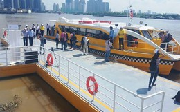 Buýt sông Sài Gòn sắp đón khách sau nhiều lần trì hoãn