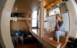 Bất ngờ với không gian sống trong căn nhà 4.600 USD chỉ 16m2 của cặp vợ chồng trẻ