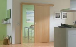 Cửa trượt - xu hướng sử dụng rộng rãi cho không gian nhà diện tích nhỏ