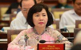 Miễn nhiệm chức vụ Thứ trưởng Bộ Công Thương đối với bà Hồ Thị Kim Thoa