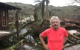 Nhà của tỷ phú Richard Branson tan tành vì siêu bão Irma