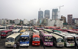 Hà Nội chuyển nốt 51 xe khách đi Ninh Bình về bến Giáp Bát