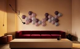 """""""Ban nhạc sống động trên tường"""" BeoSound Shape: Khi thiết bị âm thanh trở thành tác phẩm nghệ thuật"""