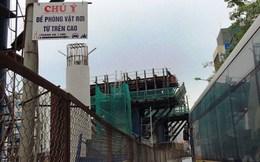 Biển báo gây sợ hãi tại dự án metro Nhổn – Ga Hà Nội