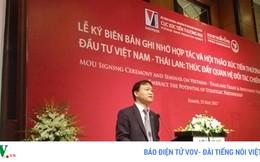 Kim ngạch thương mại Việt Nam-Thái Lan sẽ đạt 20 tỷ USD năm 2020
