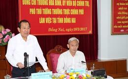 """Phó Thủ tướng Trương Hoà Bình: Làm rõ sau lưng nhóm """"cát tặc"""" là những tổ chức tội phạm nào?"""