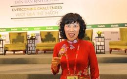 Bà Lê Thị Hoa nghỉ hưu sớm ở Vietcombank để vào HĐQT Sacombank