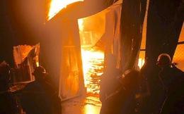 Xưởng gỗ nghìn m2 cháy 10 giờ đồng hồ, thiệt hại khoảng 7 tỷ đồng