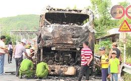 Lại cháy xe khách giường nằm tại Phú Yên, 16 hành khách kịp thời thoát nạn