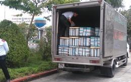 Bắt 1,4 tấn tôm bơm tạp chất không biết chở đi đâu