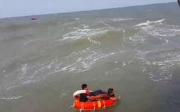 Chìm tàu hàng 4.700 tấn trên vùng biển Cửa Lò