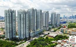 """Cung đường 2km ở Nam Sài Gòn """"oằn mình cõng"""" trên 40 cao ốc căn hộ cao cấp"""
