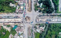 Cận cảnh công trường dự án mở rộng tuyến đường gần 2.000 tỷ tại khu Đông Sài Gòn