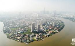 Toàn cảnh khu nhà giàu Thảo Điền nhìn từ trên cao: Đô thị hóa ồ ạt, nguy cơ ngập không phải là chuyện lạ