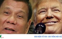 Tổng thống Donald Trump mời Tổng thống Philippines thăm Mỹ