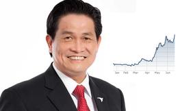 Thị trường chứng khoán gặp cản, cổ phiếu nhà ông Đặng Văn Thành vẫn tăng nóng
