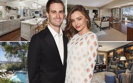 Bên trong căn nhà trị giá 12 triệu đô của CEO Evan Spiegel và vợ mới cưới Miranda Kerr có gì?