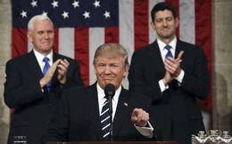 Trump lần đầu phát biểu trước Quốc hội: Mỹ đã mất 60.000 nhà máy từ khi Trung Quốc vào WTO