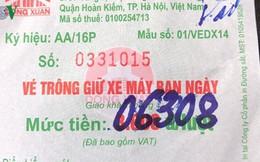 """Hà Nội dẹp loạn vỉa hè: Chóng mặt với giá vé gửi xe """"chặt chém"""""""