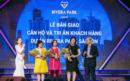 Cặp song sinh Rivera Park: Người bàn giao căn hộ, kẻ gấp rút hoàn thiện