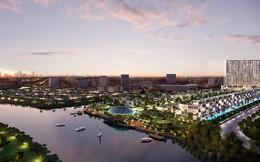 Biệt thự trên không phủ đầy cây xanh tại dự án EverGreen